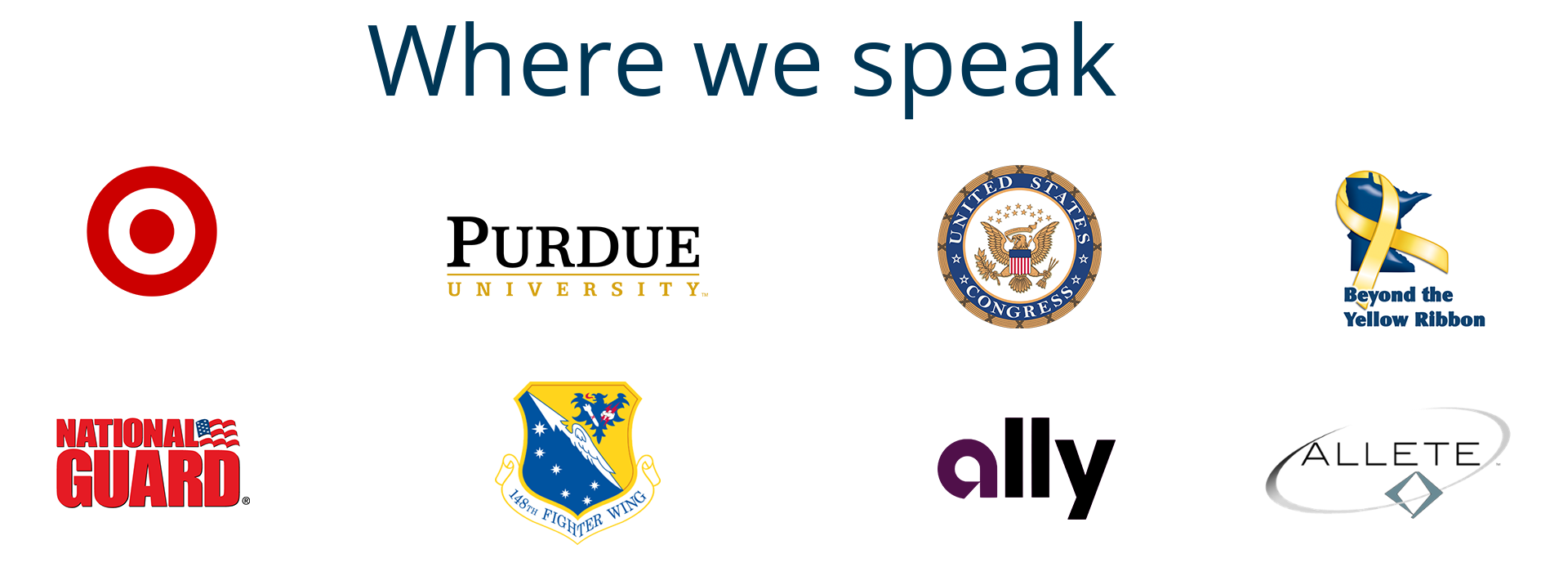 Where we speak logos